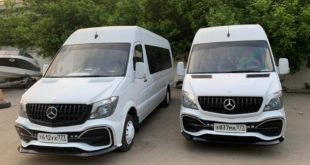 AMG Paket Mercedes Benz Sprinter W907 W910 W906 Tuning 4 310x165 AMG Paket am Mercedes Benz Sprinter von DL.Auto.Design