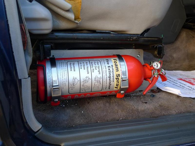 Automatic fire extinguishing system foam tuning 2 Useful: Automatic fire extinguishing systems for the car!