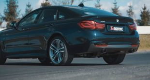BMW 440i Gran Coup%C3%A9 F36 Akrapovic 310x165 Video: Soundcheck   Cupra Ateca mit FOX Auspuffanlage