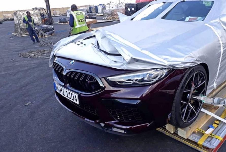 BMW M8 Competition 2019 F93 Twilight Purple Tuning 2 Leak: BMW M8 Competition 2019 (F93) in Twilight Purple
