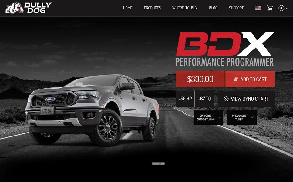Bully Dog BDX Chiptuning 2019 Ford Ranger 6 Bully Dog BDX Chiptuning für den 2019 Ford Ranger