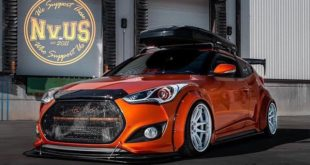 Clinched Widebody Kit Hyundai Veloster Dachbox Tuning 1 310x165 Brutal breit & tief: Clinched Widebody Lexus 2is Limo