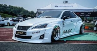 Clinched Widebody Lexus 2is Limo Tuning 1 310x165 Brutal breit & tief: Clinched Widebody Lexus 2is Limo