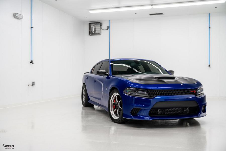 Dodge Charger Hellcat S79 WELD Wheels Tuning 1 Drag Monster   Dodge Charger Hellcat auf WELD Wheels