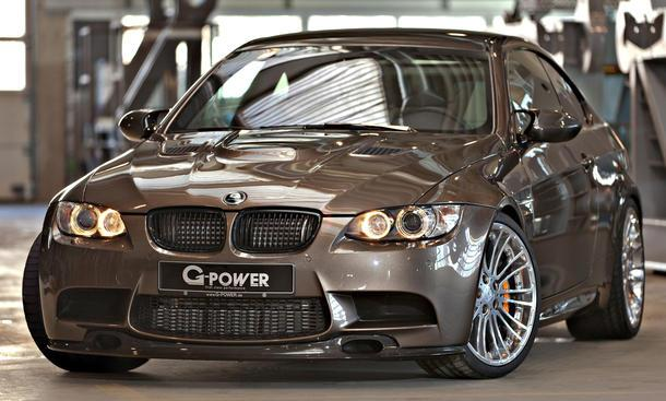 340 km / h in a BMW M3? G-Power makes it possible!