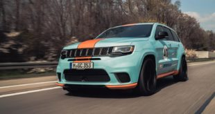 Geiger Jeep Cherokee Trackhawk GULF 40 Tuning 2019 Header 310x165 2020 Jeep Gladiator Honcho J 10 Tribute Pickup Umbau