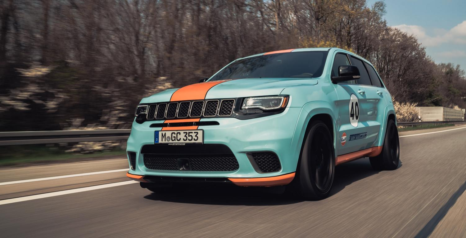 Geiger Jeep Trackhawk Gulf 40 With 900 Ps 1 000 Nm