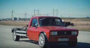 Heckmotor und 300 PS im Lada WAS 2104 310x165 Video: Drag race   BMW E34 M5 vs. E60 M5 vs. F90 M5