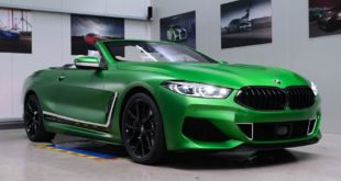 Krypton Green Matt fostla BMW M850i Cabrio G14 Folierung 1 310x165 Krypton Green Matt am fostla.de BMW M850i Cabrio (G14)