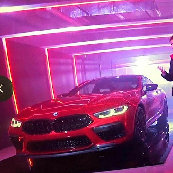 Leak 2019 BMW M8 Competition G15 Leak: 2019 BMW M8 Competition Luxus Sportler (G15)
