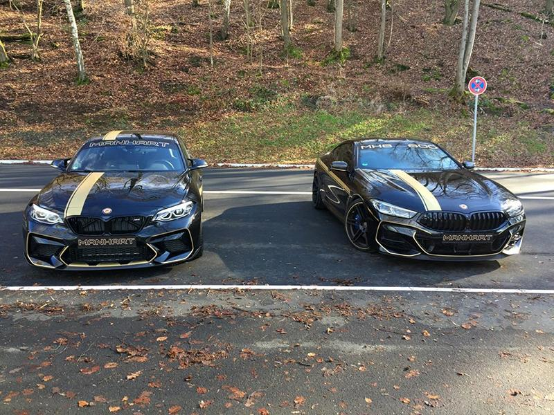MANHART MH8 600 Coupe BMW M850i G15 xDrive Tuning 3 MANHART MH8 600 Coupe auf Basis des BMW M850i