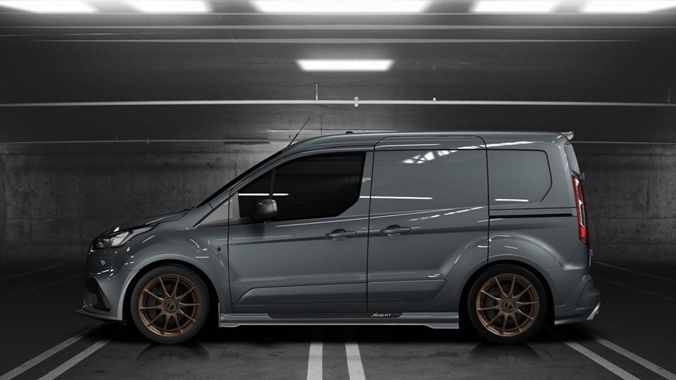 MS RT Ford Transit Connect Tuning 2019 2 Für den flotten Paketboten   MS RT Ford Transit Connect