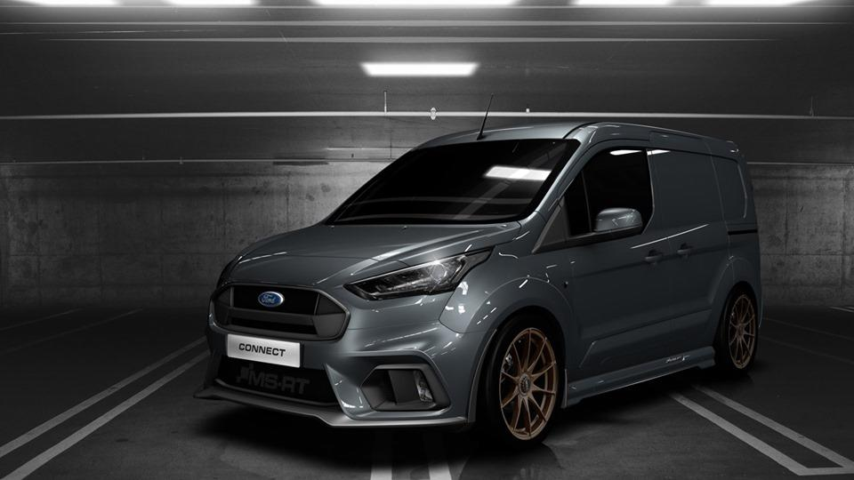 MS RT Ford Transit Connect Tuning 2019 3 Für den flotten Paketboten   MS RT Ford Transit Connect