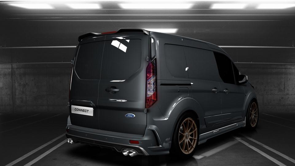 MS RT Ford Transit Connect Tuning 2019 4 Für den flotten Paketboten   MS RT Ford Transit Connect