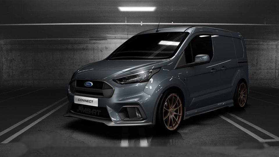 MS RT Ford Transit Connect Tuning 2019 Header Für den flotten Paketboten   MS RT Ford Transit Connect