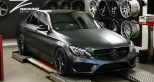 Mercedes C43 AMG MD ZP2.1 Tuning Header 310x165 Krasses Chamäleon Gewand am M&D Ford Mustang GT