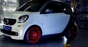 OZ Superturismo Felgen Smart ForTwo KW Tuning 6 310x165 Smarter Kontrast   OZ Superturismo Felgen am Smart ForTwo