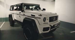 Olsson Lord Hans SAFARI G WAGON G500 4x4%C2%B2 W463 Tuning Mercedes 1 310x165 Video: russischer Tuner baut den Bentley GT Ultratank