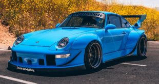 RWB Widebody Porsche 993 Turbo Riviera Blue Forgestar Tuning Header 310x165 Cool: Porsche 356 Limousine sieht aus wie ein Citroën DS