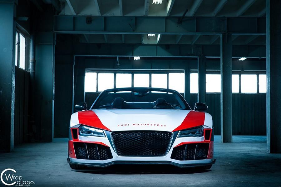 SR66 Design Audi R8 Spyder Widebody Kit Tuning 1 Sharp R8   SR66 Design Audi R8 Spyder mit Widebody Kit