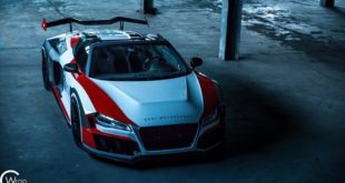 SR66 Design Audi R8 Spyder Widebody Kit Tuning 31 310x165 Sharp R8   SR66 Design Audi R8 Spyder mit Widebody Kit