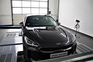 SpeedBuster Kia Stinger 3.3 T GDi Chiptuning 2 435 PS & 663 NM im SpeedBuster Kia Stinger 3.3 T GDi