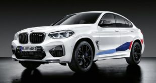2019 BMW X3 M F97 X4 M F98 M Performance Tuning 9 310x165 2019 BMW X3 M F97 + X4 M F98 mit M Performance Parts