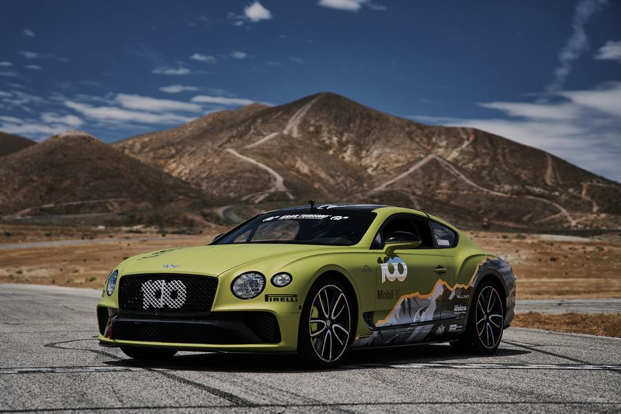 2019 Bentley Continental GT Pikes Peak Tuning 4 Voller Angriff: 2019 Bentley Continental GT Pikes Peak