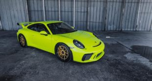 ADV5.0 Alus Porsche 911 GT3 Acid Green Tuning 17 310x165 Goldene ADV5.0 Alus am Porsche 911 GT3 in Acid Green