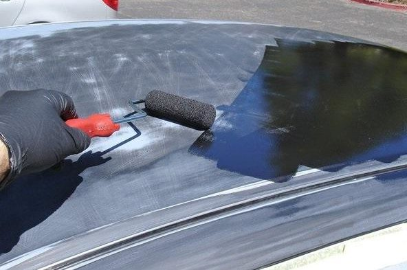 Auto Roll Paint Brush Tuning 1 e1560855485639 For a small budget, paint the car with the roller