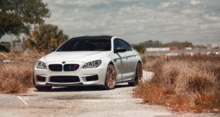 BMW M6 Gran Coupe F13 Tuning ADV10 Carbon Bodykit Header 310x165 BMW M6 Gran Coupe auf ADV.1 Wheels Schmiedfelgen