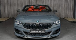 BMW M850i xDrive G14 Cabrio Dravit Grey Tuning 1 310x165 21 Zoll ANRKY AN38 Felgen am Two Face BMW M850i Coupe