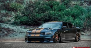 Bagged 2019 Dodge Charger Hellcat Ferrada DC FR2 Alus Tuning 7 310x165 Video: 1.200 PS Porsche 9ff Turbo R vs. Liberty Nissan GT R