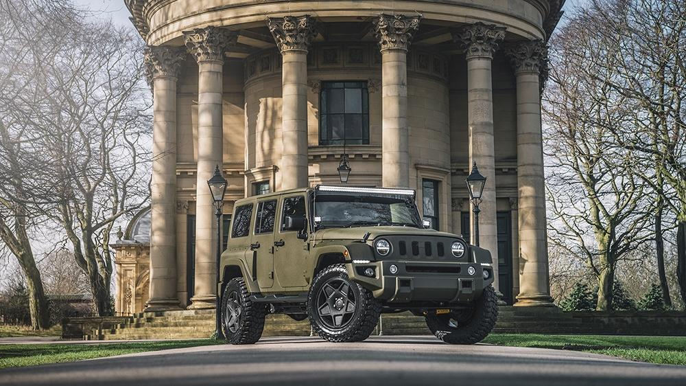 Black Hawk Expedition Edition Jeep Wrangler Kahn Design Tuning 4 Black Hawk Expedition Edition Jeep Wrangler by Kahn