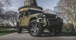 Black Hawk Expedition Edition Jeep Wrangler Kahn Design Tuning Header 310x165 Alles anders: Teaser des 2020 Rezvani Tank mit 1.000 PS
