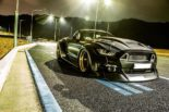 Clinched Widebody Ford Mustang GT Cabrio 12 155x103 Widebody Ford Mustang GT Cabrio (S550) mit Fahrradhalter