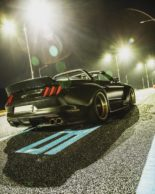 Clinched Widebody Ford Mustang GT Cabrio 18 155x194 Widebody Ford Mustang GT Cabrio (S550) mit Fahrradhalter