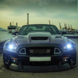 Clinched Widebody Ford Mustang GT Cabrio 26 155x155 Widebody Ford Mustang GT Cabrio (S550) mit Fahrradhalter