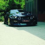 Clinched Widebody Ford Mustang GT Cabrio 27 155x155 Widebody Ford Mustang GT Cabrio (S550) mit Fahrradhalter