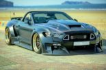 Clinched Widebody Ford Mustang GT Cabrio 28 155x103 Widebody Ford Mustang GT Cabrio (S550) mit Fahrradhalter