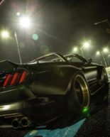 Clinched Widebody Ford Mustang GT Cabrio 4 155x193 Widebody Ford Mustang GT Cabrio (S550) mit Fahrradhalter