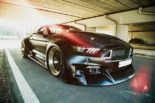 Clinched Widebody Ford Mustang GT Cabrio 8 155x103 Widebody Ford Mustang GT Cabrio (S550) mit Fahrradhalter