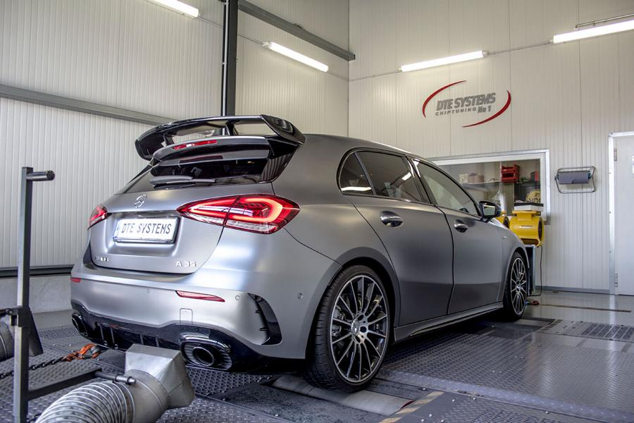 DTE Systems Mercedes A35 AMG Chiptuning 1 338 PS & 465 NM im DTE Systems Mercedes A35 AMG