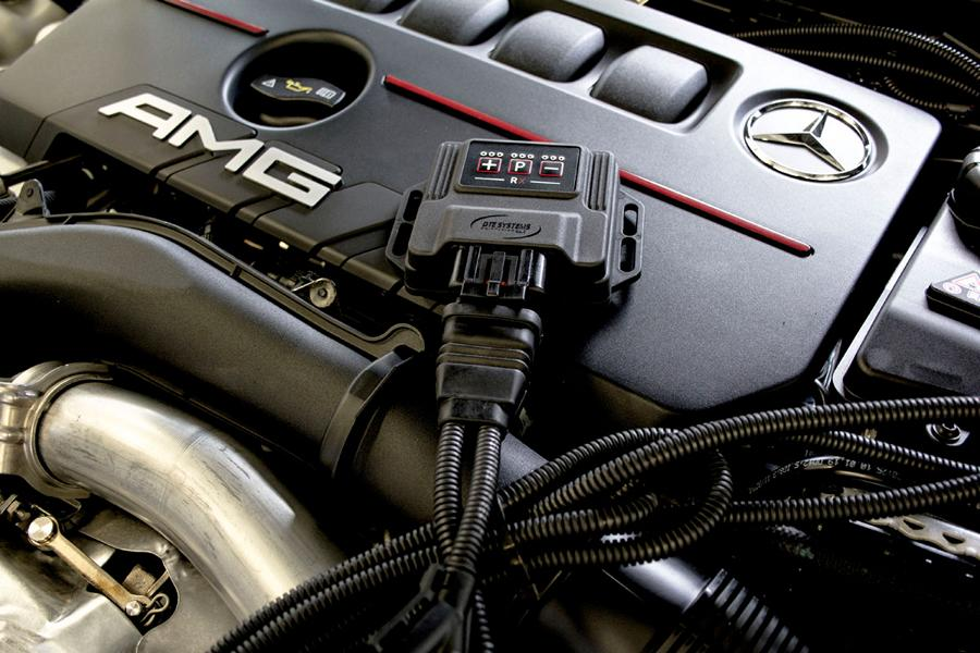 DTE Systems Mercedes A35 AMG Chiptuning 3 338 PS & 465 NM im DTE Systems Mercedes A35 AMG