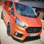 Deranged Vehicles Ford Focus RS Style Ford Transit Tuning 1 155x155 Cool: Ford Focus RS Style am Ford Transit Kastenwagen