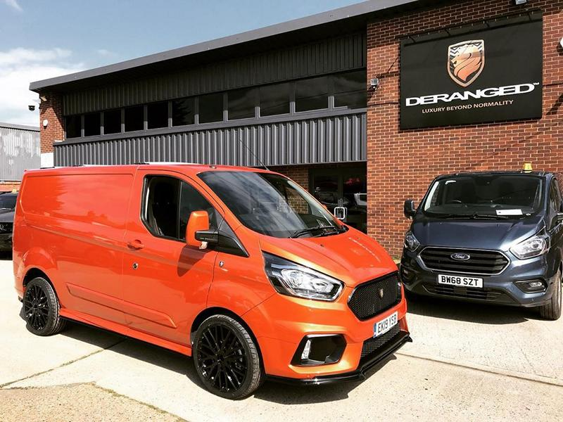 Deranged Vehicles Ford Focus RS Style Ford Transit Tuning 4 Cool: Ford Focus RS Style am Ford Transit Kastenwagen