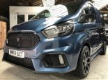 Deranged Vehicles Ford Focus RS Style Ford Transit Tuning 9 155x116 Cool: Ford Focus RS Style am Ford Transit Kastenwagen
