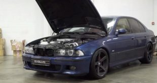 Evolve Kompressor MW E39 M5 310x165 Video: Kompressor Power im BMW E39 M5 von Evolve