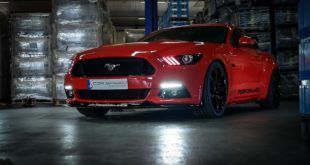 Ford Mustang GT 20 Zoll Cor.Speed Sports Felgen Tuning 3 310x165 Ford Mustang GT mit 20 Zoll Cor.Speed Sports Felgen