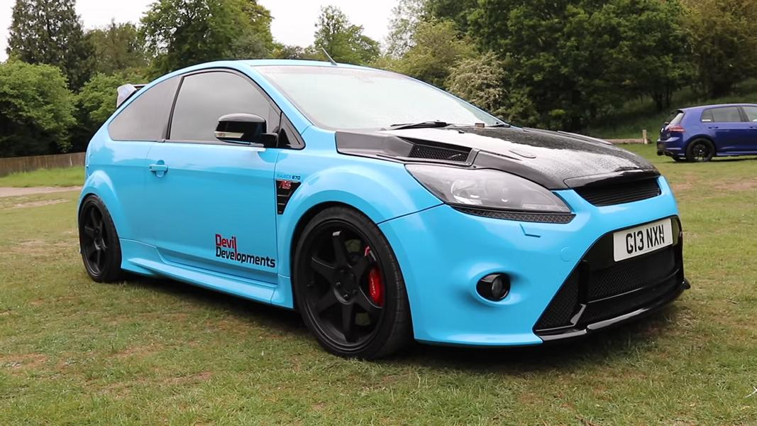 Frontantrieb 900 PS Ford Focus RS MK2 Tuning 20 Ohne Worte   Frontantrieb und 900 PS im Ford Focus RS